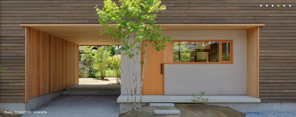 今村建築計画事務所/京都市、二世帯住宅、スキップフロア