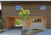 洛西の家/木造在来軸組工法_01