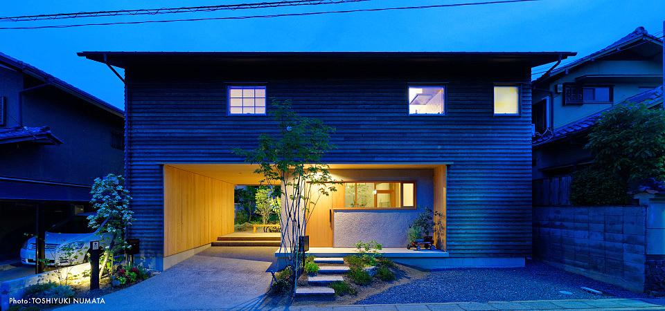 洛西の家(木造在来軸組工法)